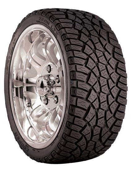 Cooper Zeon Ltz Lt / Fuel Efficiency: F, Wet Grip: E, Ext. Rolling Noise: 76db, Rolling Noise Class: C