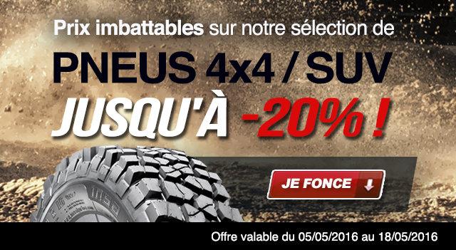 pneus SUV pas chers